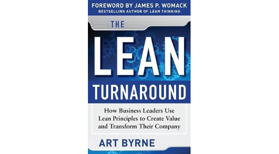 The Lean Turnaround von Art Byrne