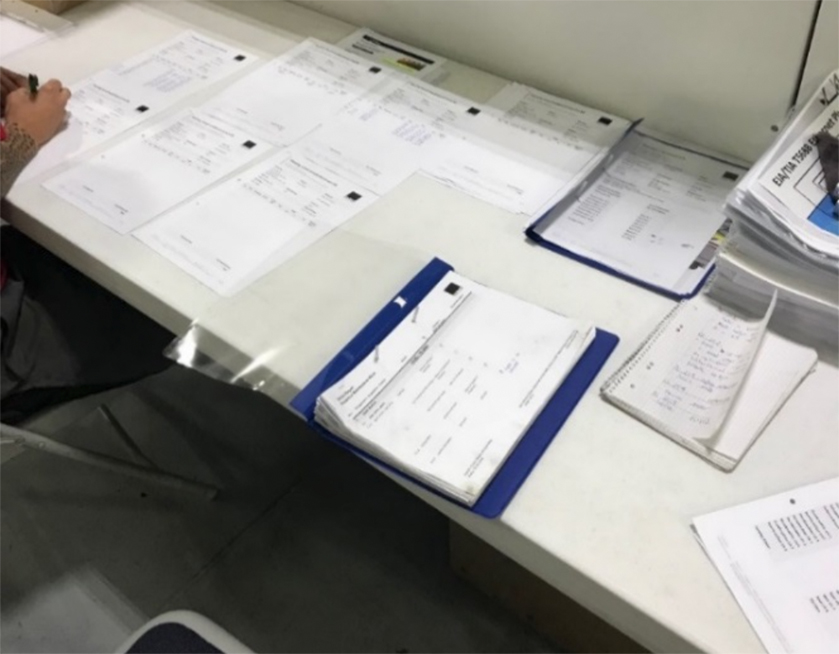 Notwendige Dokumente für einen Serviceauftrag