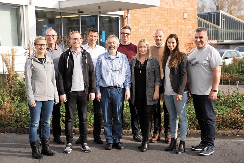 Bild: Projektteam XMV-Kultur, davon acht XMV-Trainer