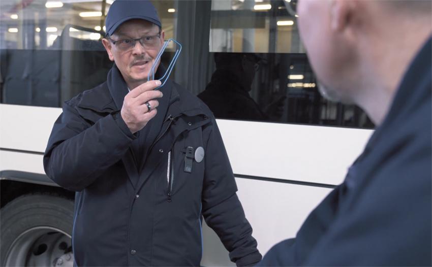 Bild: «Büroklammer» im vbl-Video, um die XMV-Kultur zu verbreiten.
