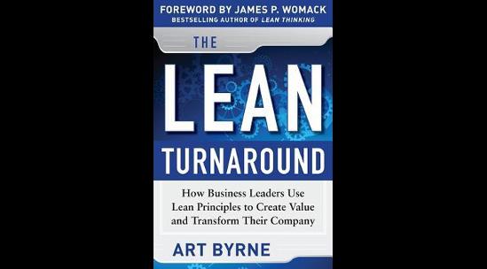The Lean Turnaround de Art Byrne